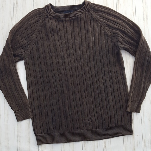 Sonoma Other - Sonoma cotton cable knit sweater size L